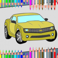American Cars Coloring Book Online