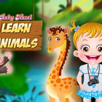 Baby Hazel Learn Animals