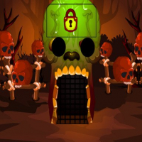 Brown Skull Forest Escape Online