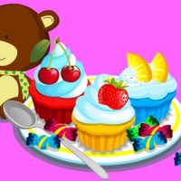 Cooking Colorful Cupcakes Online