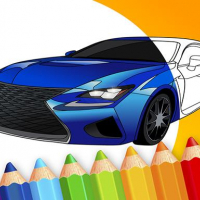 draw Car - Japanese Luxury Cars Coloring Book Online