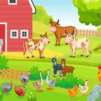 FARM ANIMALS PUZZLES CHALLENGE Online