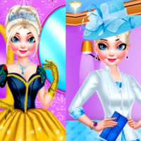 MAKEOVER ROYAL QUEEN VS MODERN QUEEN DRESSUP Online