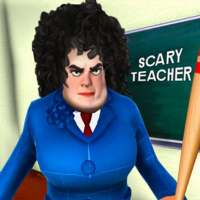 Scary Evil Teacher Games: Neighbor House Escape 3D Online