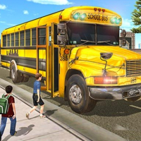 Real School Bus Driving