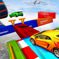 Sky Ramp Car Mega Stunts Big Jump Online