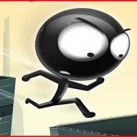 Stickman Roof Runner Online